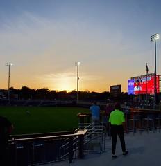 2442263601 (jalexartis) Tags: fayetteville fayettevillenc fayettevillenorthcarolina downtown downtownfayetteville segra segrastadium stadium baseball ballpark inaugralseason inaugral sunset lighting