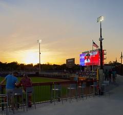 2442263553 (jalexartis) Tags: fayetteville fayettevillenc fayettevillenorthcarolina downtown downtownfayetteville segra segrastadium stadium baseball ballpark inaugralseason inaugral sunset lighting