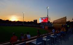 2442263505 (jalexartis) Tags: fayetteville fayettevillenc fayettevillenorthcarolina downtown downtownfayetteville segra segrastadium stadium baseball ballpark inaugralseason inaugral sunset lighting
