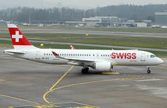 HB-JCS - 1/22/19 (nstampede002) Tags: swiss swissinternationalairlines swissinternational bombardier bombardiercseries bombardiercs300 cs300 cseries airbus airbusa220 airbusa220300 a220 a220300 aviationphotography commercialaviation airliner