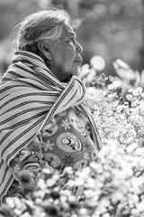 Glowing in the Sunlight (_aires_) Tags: aires iris woman flowers sunlight sun beauty beautiful portrait canoneos5dmarkiii canonef70300mmf456isusm dayofthedead diademuertos 2november tzintzuntzanmexico tzintzuntzan
