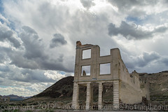 Rhyolite, Nv. April 2019 (mclick!) Tags: death valley amargosa opera house snake river badwater basin zabriske point photography photographers brz subaru hotel tonapah fallon nevada california oregon washington idaho borax ubehebe crater flowers fox goldfield pahrump las vegas 93 great highway hwy 95 john day burns pendleton salt flats lewiston grade rhyolite hells gate devils viewpoint furnace creek stovepipe wells junction panamint beatty dantes view ely jackpot mccall grangeville othello 84 82 90 palette artists graveyard barn home building april 2019