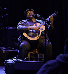 Kevin Burt (shamal1) Tags: blues acoustic guitar soul vocals harmonica pennsylvania livemusicisbest music microfourthirds stage buckscounty color concert livemusic olympus photo photography roots sellersvilletheater venue