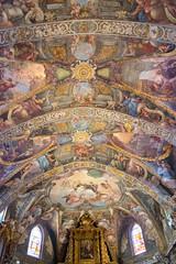 Bóveda de la iglesia de San Nicolás, Valencia 01 (dorieo21) Tags: iglesia église church fresco voûte vault