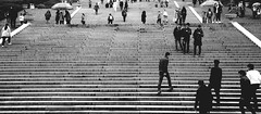 Dr Sun Yat-sen's Mausoleum, Nanjing (Joshua Khaw) Tags: nanjing china steps black white people street stairs crowd public