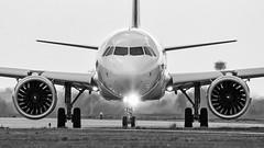 HA-LVB B&W (fakocka84) Tags: lisztferencairport lhbp wizzair halvb airbusa321271nx