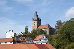 P1070698 (Germoney €) Tags: 2018 deutschland fluss fulda fuldaradweg germany guxhagen hessen radtour river biketrip bicycletrip kloster cloister kirche church breitenau