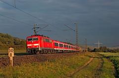 DB 111 223 (maurizio messa) Tags: br111 re4620 mau bahn ferrovia bayern germania germany treni trains railway railroad nikond90