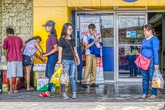 Shopping (Beegee49) Tags: street people hdr shopping colourful happy planet luminar sony a6000 bacolod city philippines asia happyplanet asiafavorites