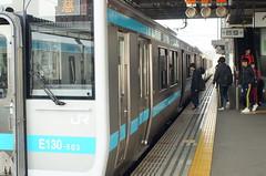 For club activity (しまむー) Tags: sony slta57 a57 α57 minolta af zoom 2885mm f3545 trip train sanriku rias line 三陸鉄道リアス線