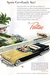1956 Pontiac Star Chief Convertible  USA Original Magazine Advertsement (Darren Marlow) Tags: 1 5 6 9 19 56 1956 p pontiac s star chief c convertible car cool collectible collectors classic a automobile v vehicle g m gm general motors u us usa united states american america 50s