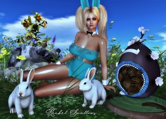 HAPPY EASTER TO YOU (Rachel Swallows) Tags: easter egg easteregg gift holiday chocolate secondlife love aphrodite xxxevent mico bunny pose decor flowers redeux