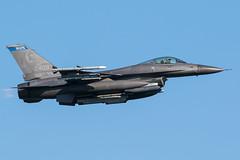Minnesota F-16 at Leeuwarden (lha-spotter.de) Tags: usaf us air force f16 fighting falcon frisian flag leeuwarden ehlw f16cm 910409 fighter jet minnesota 148th wing general dynamics duluth guard