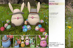 Sway's [Mr. & Mrs. Bunny Egg] FLF (Sway Dench / Sway's) Tags: easter bunny egg cute spring vr sl sways