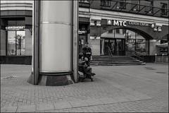 DRD160605_0818 (dmitryzhkov) Tags: urban outdoor life human social public stranger photojournalism candid street dmitryryzhkov moscow russia streetphotography people bw blackandwhite monochrome arbat arbatstreet
