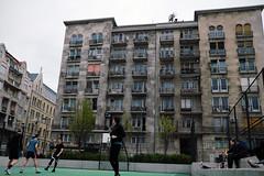Urban Game (polybazze) Tags: budapest hungary street streetlife streetcamera travel travelcamera fuji fujifilm xt20 23mm xf23mmf2rwr basket ball court sports game sport
