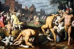 De kindermoord in Bethlehem, Cornelis van Haarlem,1592 (andrevanb) Tags: amsterdam rijkmuseum art 16thcentury painting dekindermoordinbethlehem massacreoftheinnocentscornelisvanhaarlem 1592