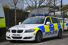 PO12 NAA (S11 AUN) Tags: merseyside police bmw 330d estate touring anpr traffic car roads policing unit rpu motor patrols nwmpg northwestmotorwaypolicegroup 999 emergency vehicle po12naa