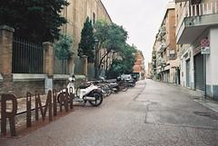 Rimini (goodfella2459) Tags: nikonf4 afnikkor24mmf28dlens kodakportra800 35mm c41 film analog colour rimini italy streets road buildings trees manilovefilm