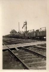 Germany, WWII, Railroad Siding, V2 Rockets (photolibrarian) Tags: germany wwii railroadsiding v2rockets v2 güterbahnhof reichsbahn ww2