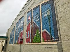 IMG_2411 (Sam W. Hummelstein) Tags: 2019 25 april bailey centennial contractors instruments jerry jonesboro musical plaques plaza rotary brackett mural