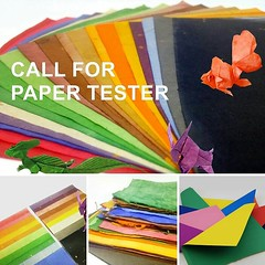 [CALL FOR PAPER TEST-FOLDER]  Currently, I've opened an origami shop for papers and art works. I'm developing some new kinds of STRONG AND THIN paper (basically from traditional Do and Tissue).   What I need now is some paper test-folders to test fold my (Phạm Hoàng Tuấn) Tags: origamipaper craft giấy art hoangtuanorigami paperfolding papercraft paper craftandart origami
