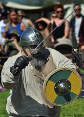 Tutbury Viking (2019) 02 (Row 17) Tags: england staffordshire viking vikings reenactment reenactor reenactors historic heritage