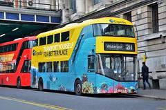 LT636 (stavioni) Tags: nb4l new bus for london routemaster boris borismaster all over wrap advert expedia lt636 lt 636 tfl ltz1636 double decker transport hybrid wright wrightbus