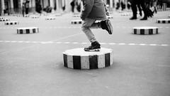Untitled (Cécile Charron) Tags: film minolta noiretblanc nb bnw blackandwhite bw blackwhite paris france monochrome argentique streetphotography streetphoto street candid