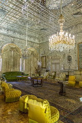 La salle des Miroirs (hubertguyon) Tags: iran perse persia asie asia moyen orient middle east téhéran tehran ville city golestan palais palace