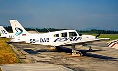 S5-DAB   Piper PA-28R-201T Turbo Arrow III [2803011] (Adria) Ljubljana~S5 19/06/1996 (raybarber2) Tags: 2803011 airportdata cn2803011 filed flickr ljlj planebase print raybarber s5dab single sloveniancivil