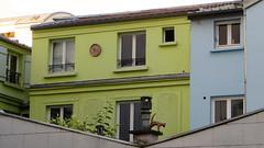 Paris XIVe - France (Mic V.) Tags: paris xiv 14 france 7 impasse florimont florimond georges brassens chanteur compositeur poete french singer songwriter poet artist artiste