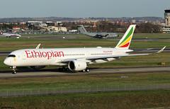 Ethiopian Airlines Airbus A350-941 F-WZFK (ET-AWM) (RuWe71) Tags: ethiopianairlines eteth ethiopian ethiopia adisabeba airbus airbusa350 airbusa350xwb a350xwb a350 a359 a350900 a350941 airbusa350900 airbusa350941 fwzfk msn289 etawm rome toulouseblagnac toulouseblagnacairport toulouse blagnac aéroportdetoulouse aéroporttoulouseblagnac lfbo tls widebody taxiing twinjet winglets sharklets runway sunshine