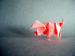 Pig - Ladislav Kaňka (Rui.Roda) Tags: origami papiroflexia papierfalten cerdo cochon porco schwein pig ladislav kaňka