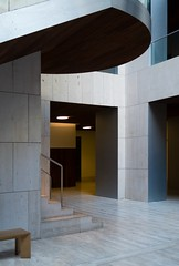 Frade Arquitectos. Museo arqueologico nacional #21 (Ximo Michavila) Tags: fradearquitectos museoarqueologiconacional ximomichavila museum madrid archeology spain culture archdaily archidose archiref building interior light stairs glass architecture