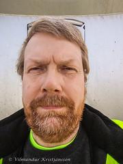 Villi (20190325_142017 vk) (Villi Kristjans) Tags: vilmundur vk villi vkphoto kristjansson kristjans kristjáns kristjánsson old outdoor trip work color colour man guy me i selfie norway noregur norge