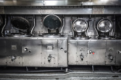 HMS Belfast galley (Rob A Dickinson) Tags: nikon d7100 nikkor24120f4 london hmsbelfast galley cooker
