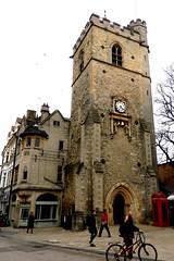 Carfax Tower, Oxford, England (Joseph Hollick) Tags: england oxford cotswold tower clock clocktower