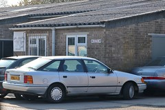 H196 HHJ (2) (Nivek.Old.Gold) Tags: 1990 ford granada turbo diesel lx 5door 2498cc