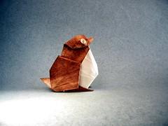 Bird - Akira Yoshizawa (Rui.Roda) Tags: origami papiroflexia papierfalten oiseau pájaro pássaro bird akira yoshizawa