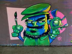 Mssls (oerendhard1) Tags: graffiti streetart urban art rotterdam oerendhard maassluis cosh