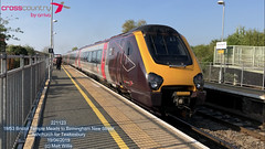 CROSSCOUNTRY VOYAGER 221123 ASHCHURCH FOR TEWKESBURY 19042019 (MATT WILLIS VIDEO PRODUCTIONS) Tags: crosscountry voyager 221123 ashchurch for tewkesbury 19042019