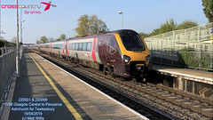 CROSSCOUNTRY VOYAGER 220021 220006 ASHCHURCH FOR TEWKESBURY 19042019 (MATT WILLIS VIDEO PRODUCTIONS) Tags: crosscountry voyager 220021 220006 ashchurch for tewkesbury 19042019