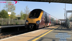 CROSSCOUNTRY VOYAGER 220009 220001 ASHCHURCH FOR TEWKESBURY 19042019 (MATT WILLIS VIDEO PRODUCTIONS) Tags: crosscountry voyager 220009 220001 ashchurch for tewkesbury 19042019