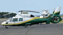 G-NHAC & G-NHAA GREAT NORTH AIR AMBULANCE (toowoomba surfer) Tags: helicopter aviation medicalaviation ncl airambulance