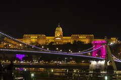 Budapest at Night Chain Bridge (rschnaible) Tags: budapest hungary europe night photography architecture building cityscape outdoor history parliament long exposure