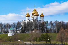 Yaroslavl (gubanov77) Tags: yaroslavl russia architecture church temple cathedral city cityscape sky goldenringofrussia building