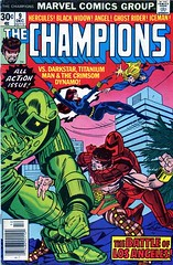 Champions#9-$10 (Hot Buys From Jojo) Tags: marvel comics champions hercules angel