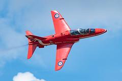 Royal Air Force British Aerospace Hawk T.1A XX278 (Thames Air) Tags: royal air force british aerospace hawk t1a xx278 red arrows