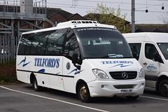 PO61LUR  Telfords, Newcastleton (highlandreiver) Tags: po61lur po61 lur telfords coaches newcastleton mercedes benz bus coach carlisle cumbria
